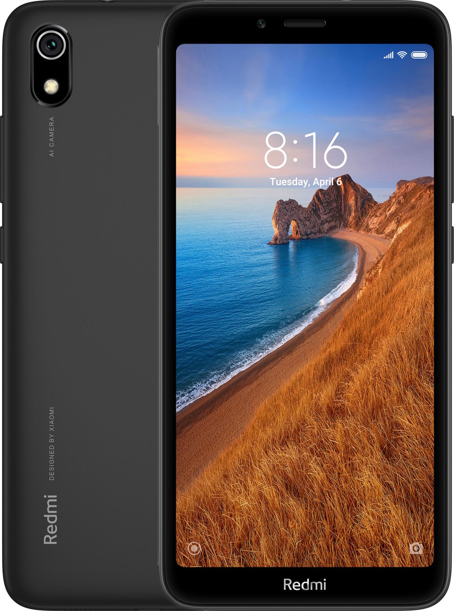 Xiaomi Redmi 7A Dual SIM - 16GB, 2GB RAM, 4G LTE, Matte Black Global Versia