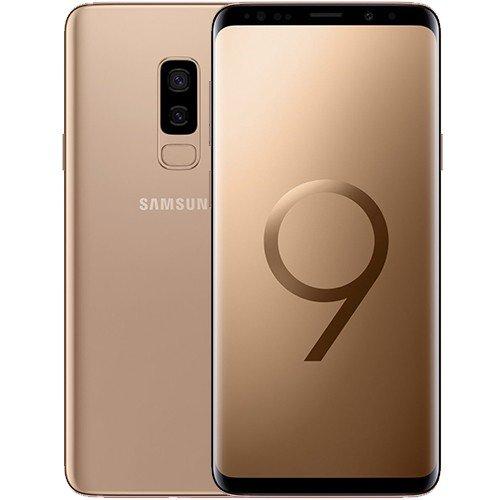 Samsung Galaxy S9+ Dual Sim - 128GB,6GB Ram,4G LTE, Sunrise Gold