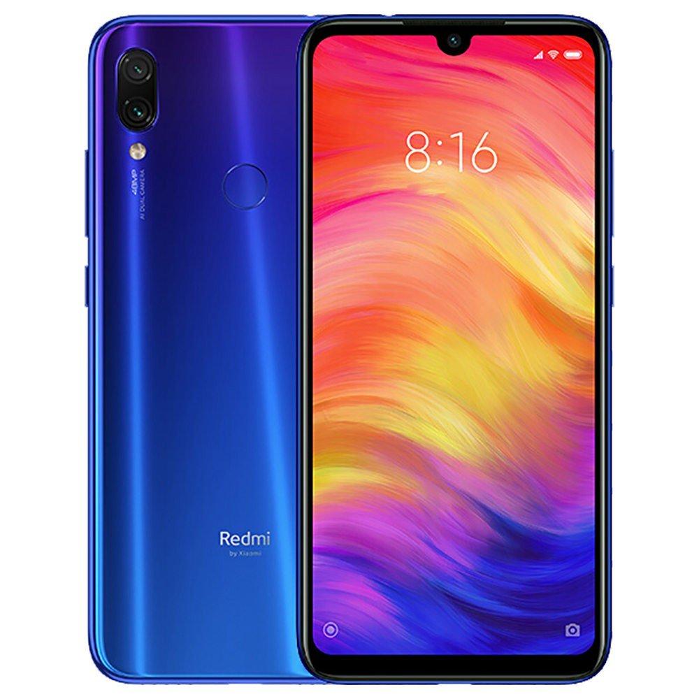 Xiaomi Redmi Note 7 PRO Dual SIM - 128GB, 6GB RAM, 4G LTE, Neptune Blue