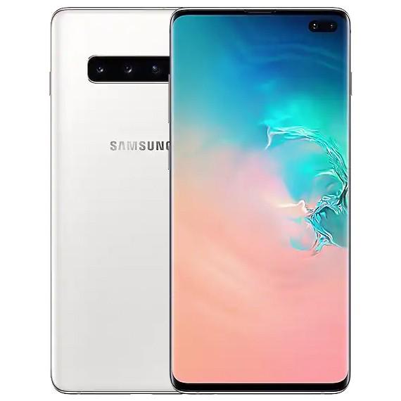 Samsung Galaxy S10 Plus Dual Sim - 512GB, 8GB RAM, 4G LTE, Ceramic White