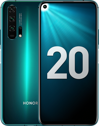 Honor 20 Pro Dual SIM - 256GB, 8GB RAM, 4G LTE, Phantom Blue