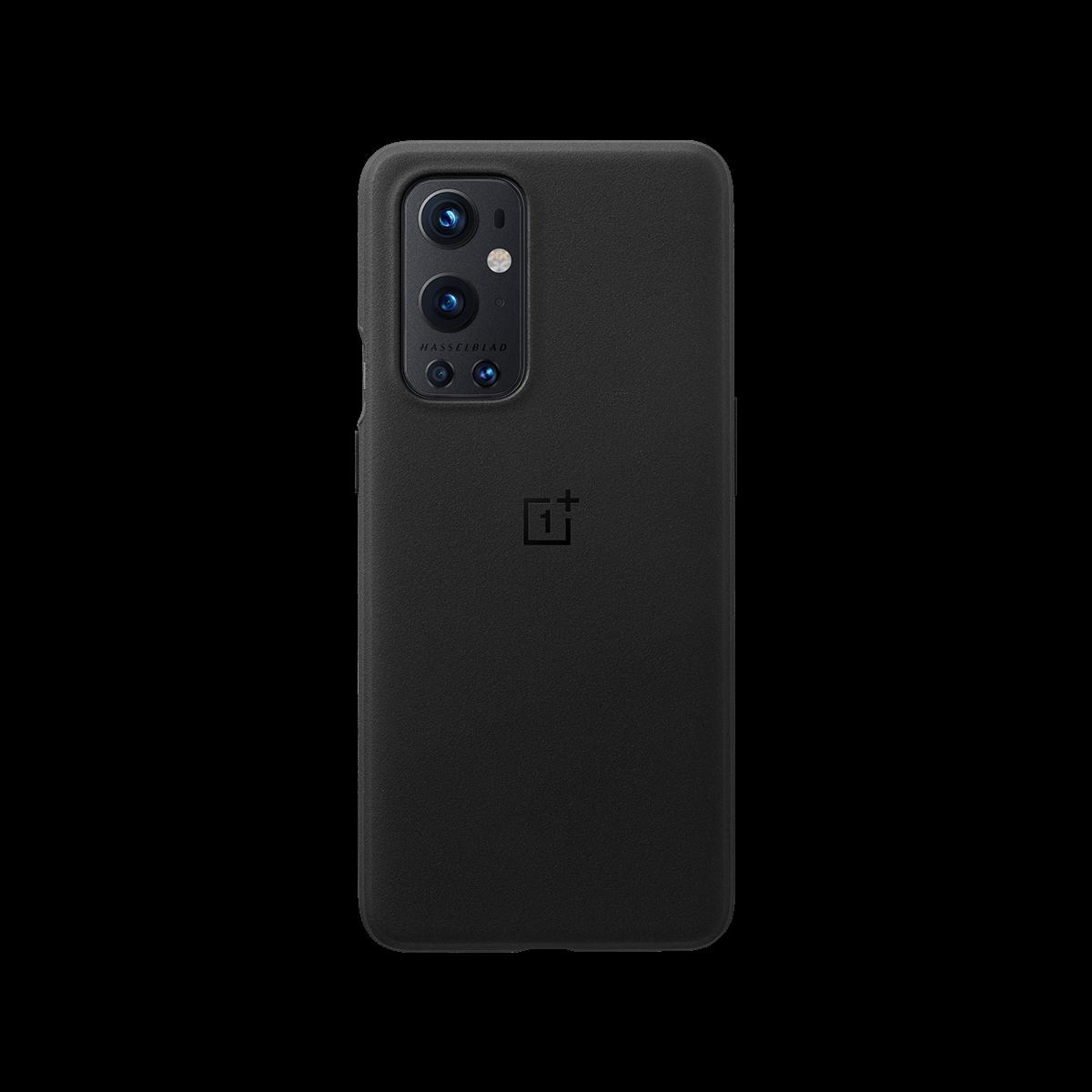 OnePlus 9 Pro Sandstone Bumper Case Sandstone Black