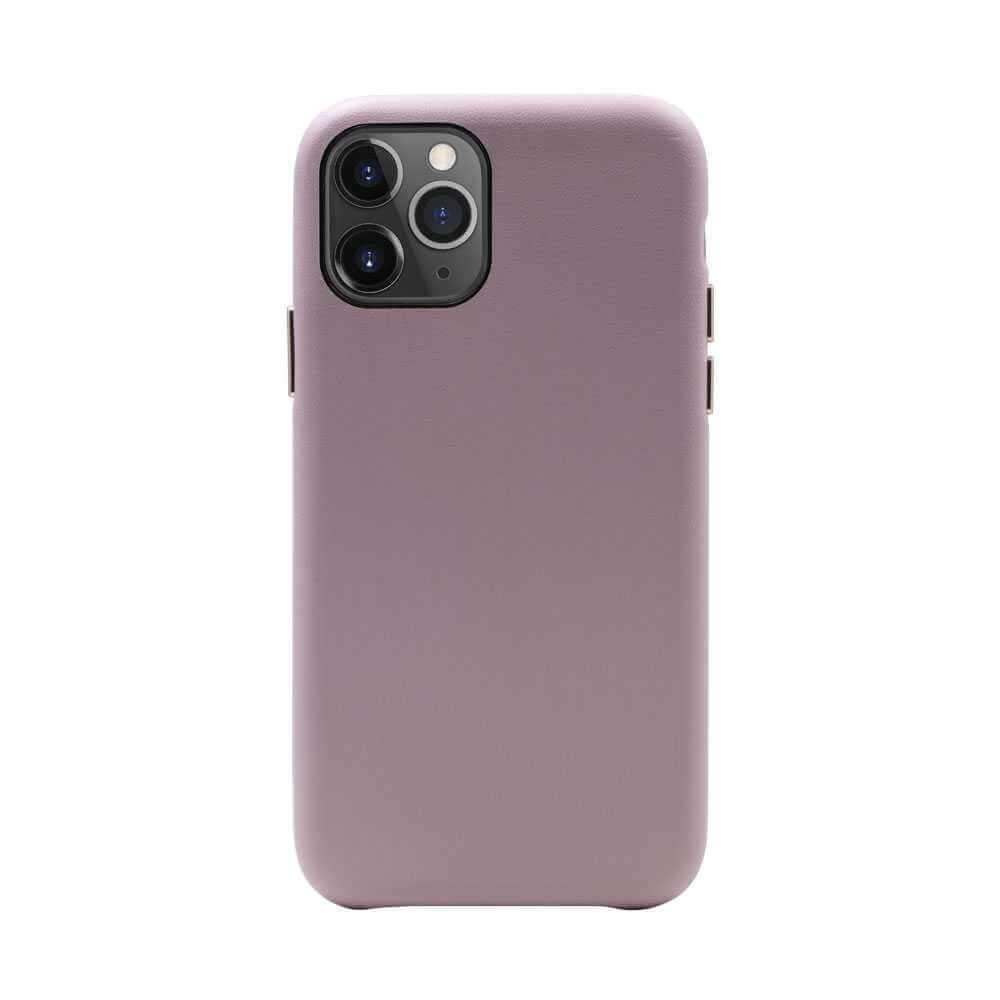 Habitu Macaron Vegan Leather Case for iPhone 11 Pro - Blush Rose
