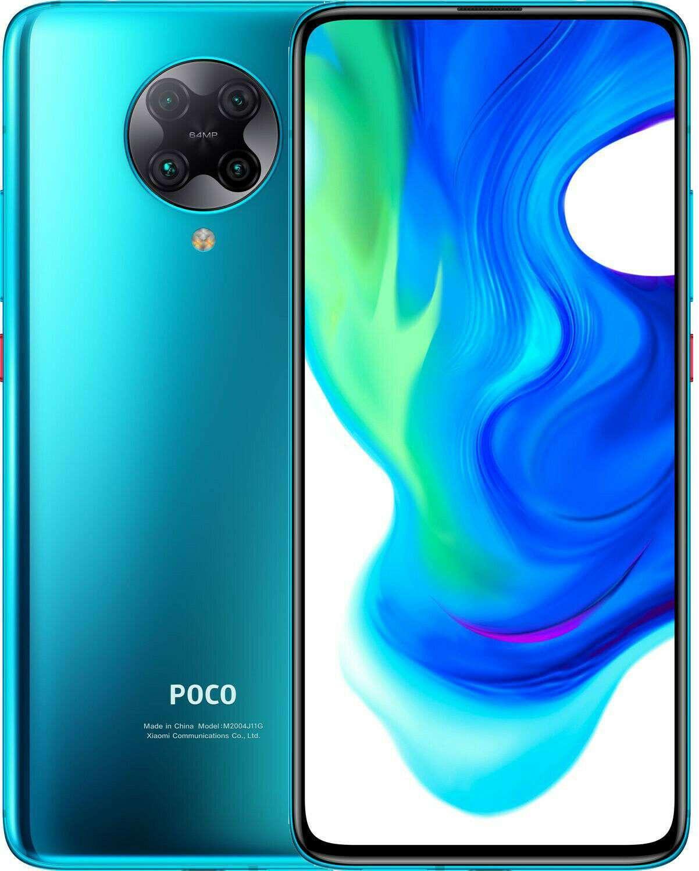 Xiaomi Poco F2 Pro Dual SIM, 256GB, 8GB RAM, 5G - Neon Blue Global Versia