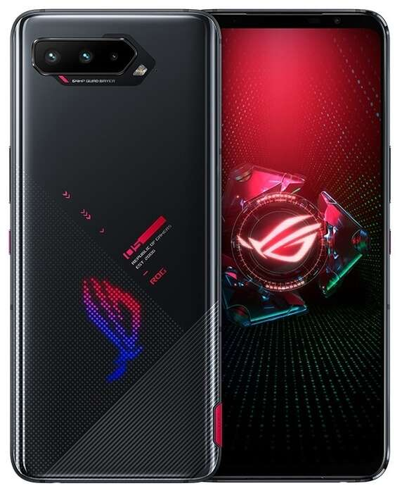 ASUS Rog Phone 5 Dual Sim 8GB RAM 128GB 5G Black