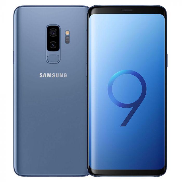 Samsung Galaxy S9+ Dual Sim - 128GB,6GB Ram,4G LTE, Blue