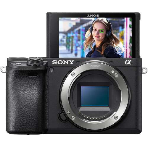 Sony Alpha a6400 Mirrorless Camera Body 24.2MP With Tilt Touchscreen And Built-in Wi-Fi Black