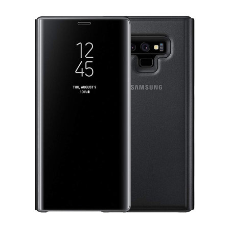 Samsung Galaxy Note 9 Clear View Cover - Black (EF-ZN960CB)