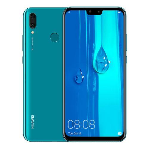 Huawei Y9 2019 Dual SIM - 64GB, 4GB RAM, 4G LTE, Blue