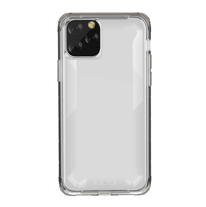 Devia Defender2 Series Case for Apple iPhone 11 Pro Max - Crystal Clear