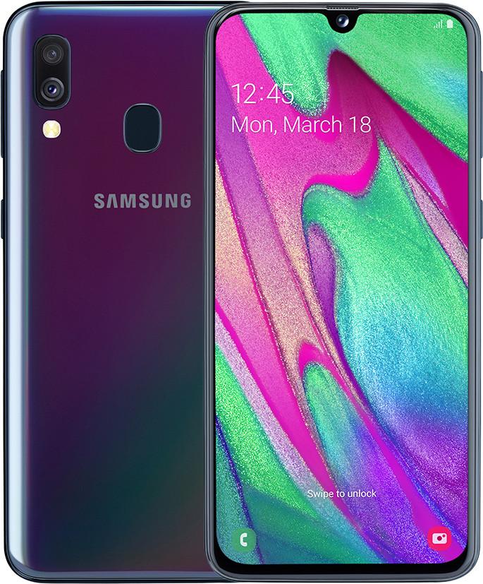 Samsung Galaxy A40 Dual SIM 64GB 4G LTE Black
