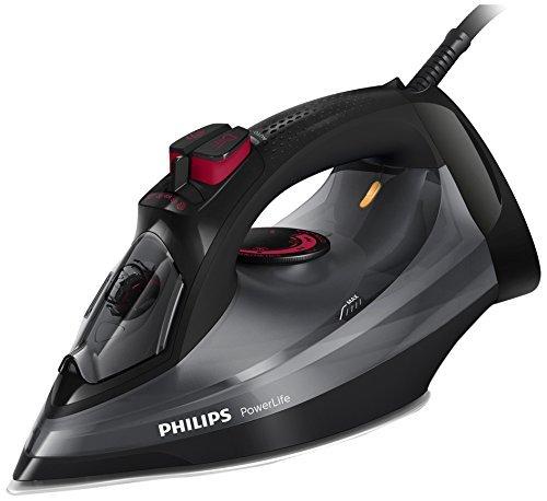 Philips PowerLife Steam Iron - GC2998, Black