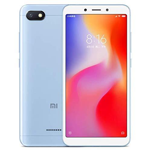 Xiaomi Redmi 6A Dual SIM - 16GB, 2GB RAM, 4G LTE, Blue Global Versia