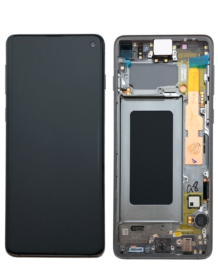 LCD+TOUCH SAMSUNG GALAXY S10 G973 BLACK ORIGINAL 100%