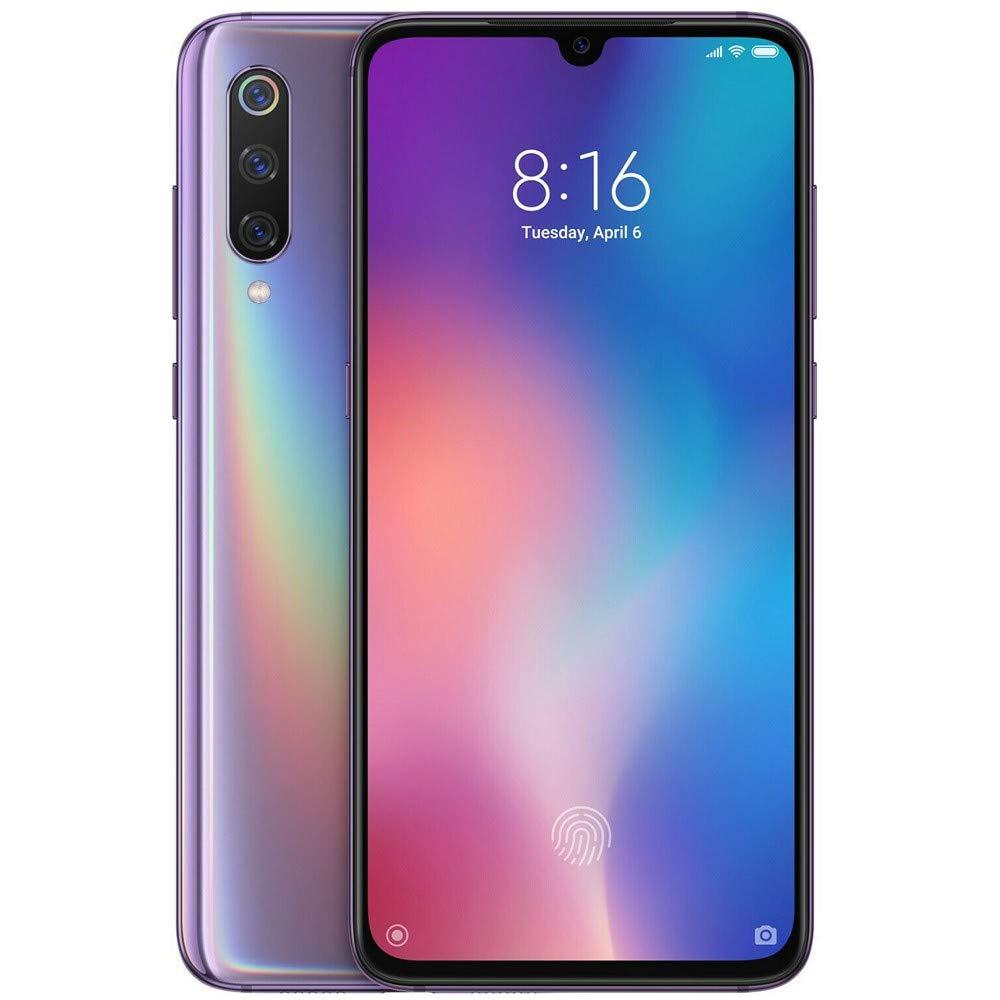 Xiaomi MI 9 Dual SIM - 128GB, 6GB RAM- Global Versia Lavender Violet