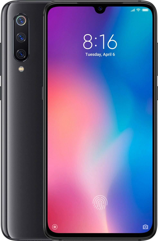Xiaomi MI 9 Dual SIM - 128GB, 6GB RAM- Global Versia Piano Black