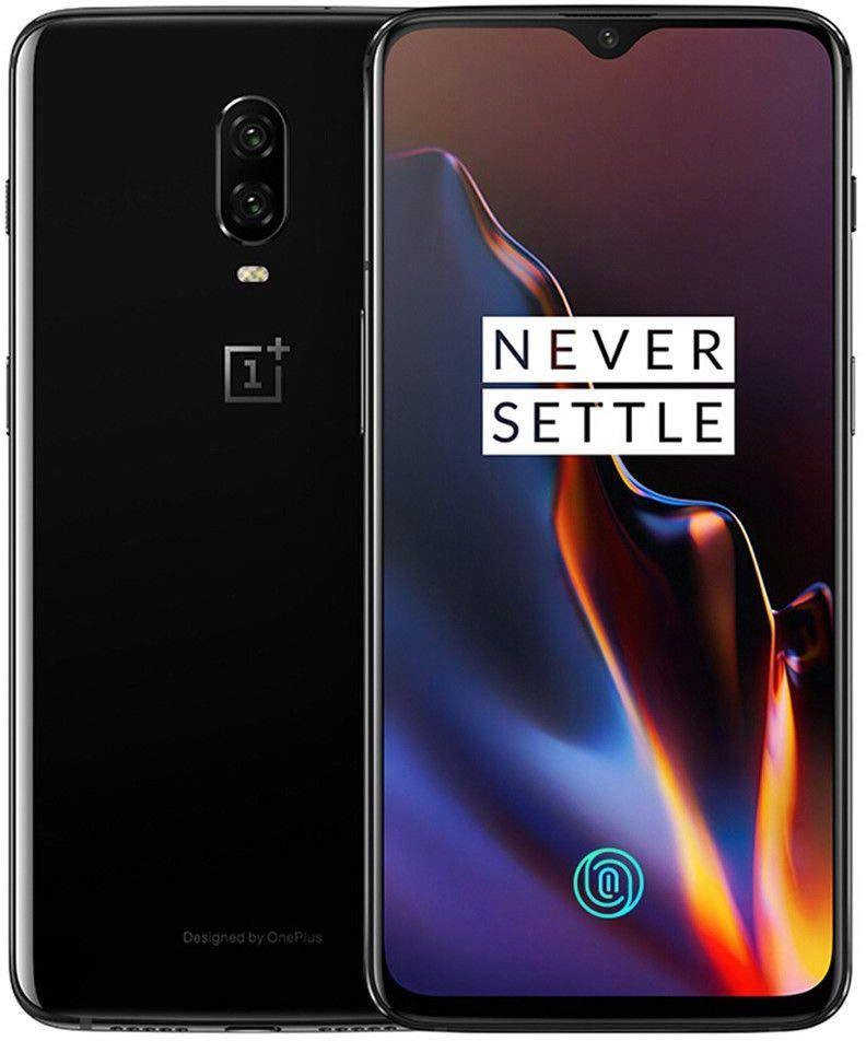 OnePlus 6T Dual Sim - 128GB, 8GB RAM, 4G LTE, Mirror Black