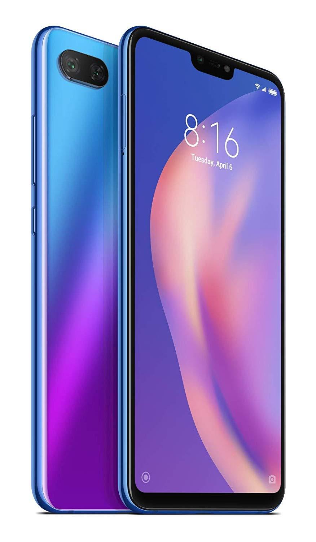 Xiaomi Mi 8 Lite Dual SIM - 64GB, 4GB RAM, 4G LTE, Aurora Blue Global Versia