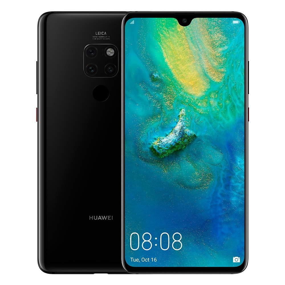 Huawei MATE 20 Dual Sim - 128GB, 4G LTE, BLACK
