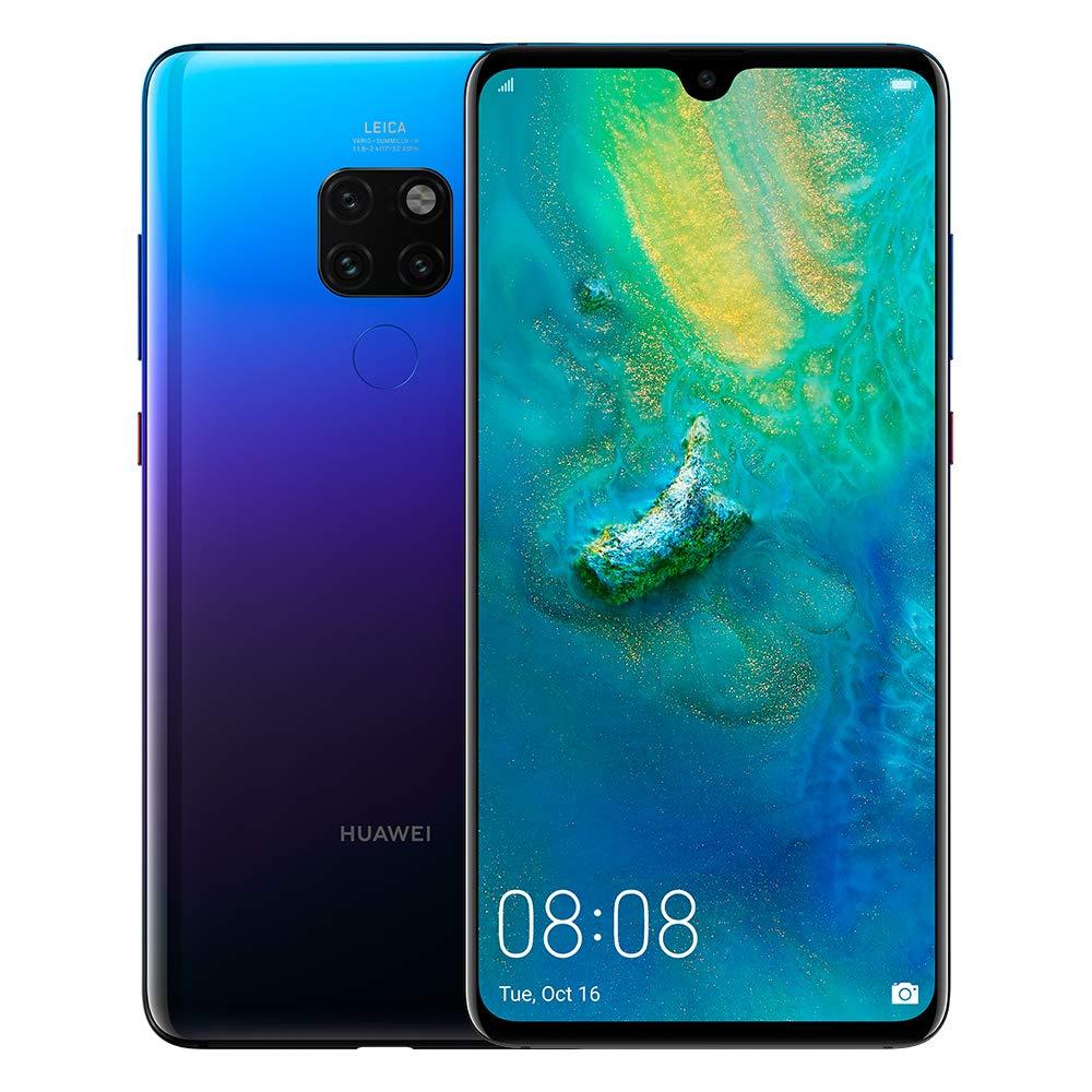 Huawei Mate 20 Dual Sim - 128GB, 4G LTE, TWILIGHT