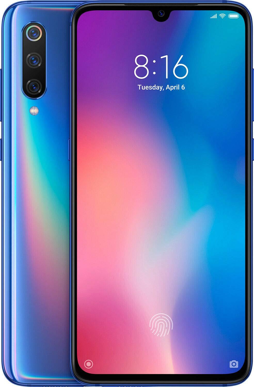 Xiaomi MI 9 Dual SIM - 128GB, 6GB RAM- Global Versia Ocean Blue