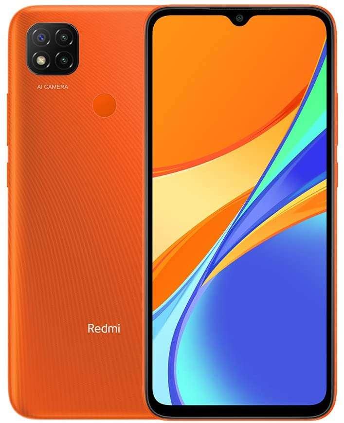 Xiaomi Redmi 9C Dual SIM, 32GB, 2GB RAM - Sunrise Orange