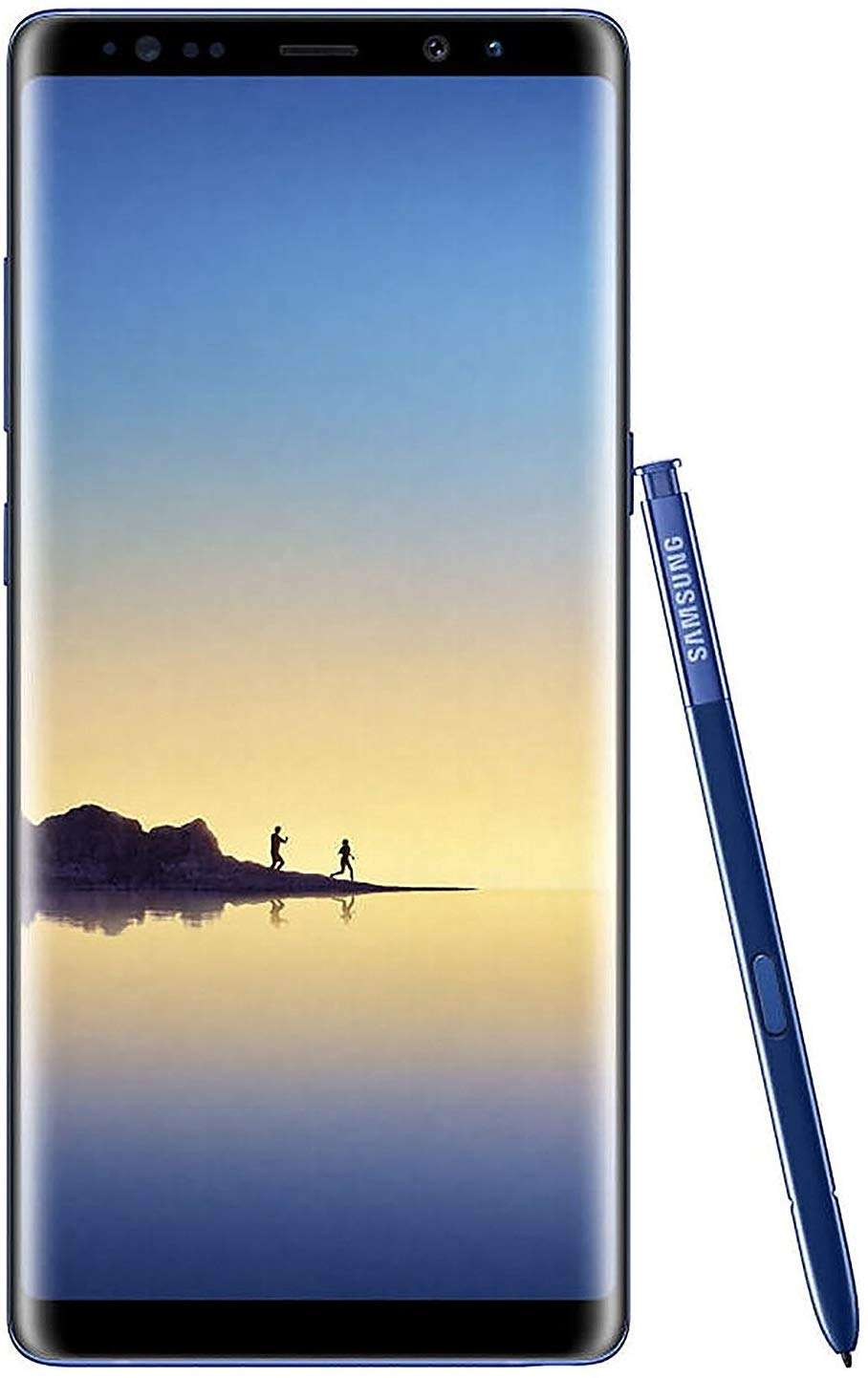 Samsung Galaxy Note 8 Dual SIM - 256GB, 6GB RAM, 4G LTE, Deep Sea Blue