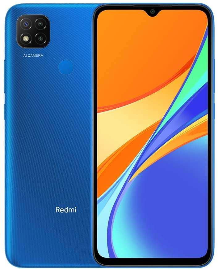 Xiaomi Redmi 9C Dual SIM, 32GB, 2GB RAM - Twilight Blue