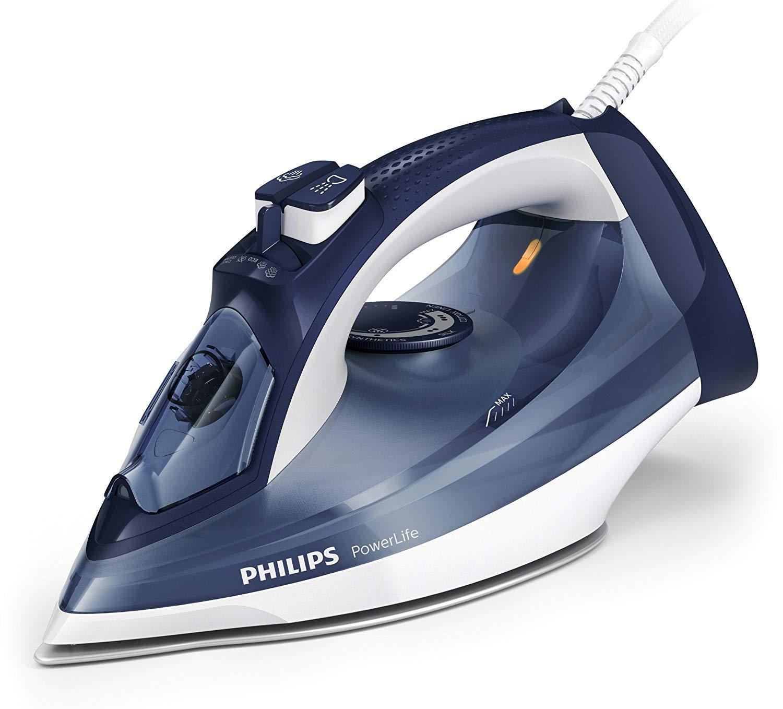 Philips PowerLife Steam Iron 2400W GC2994 White/Blue