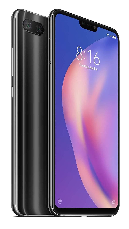 Xiaomi Mi 8 Lite Dual SIM - 64GB, 4GB RAM, 4G LTE, Midnight Black Global Versia