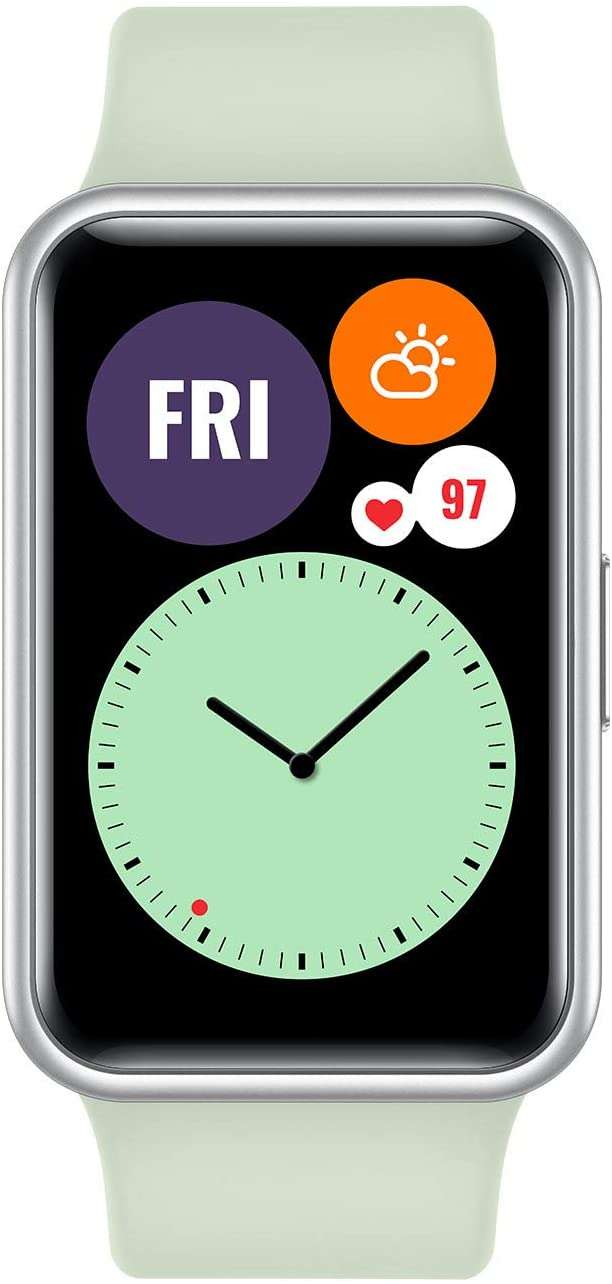 HUAWEI WATCH FIT Smartwatch Mint Green (TIA-B09)