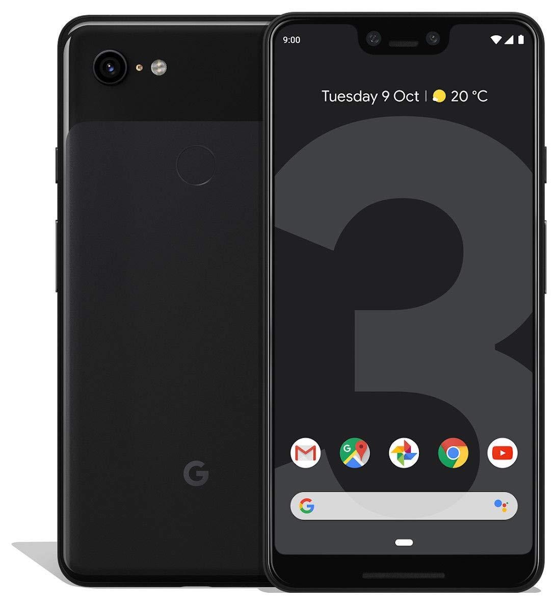 Google Pixel 3 XL - 128GB, 4GB RAM, 4G LTE, Just Black