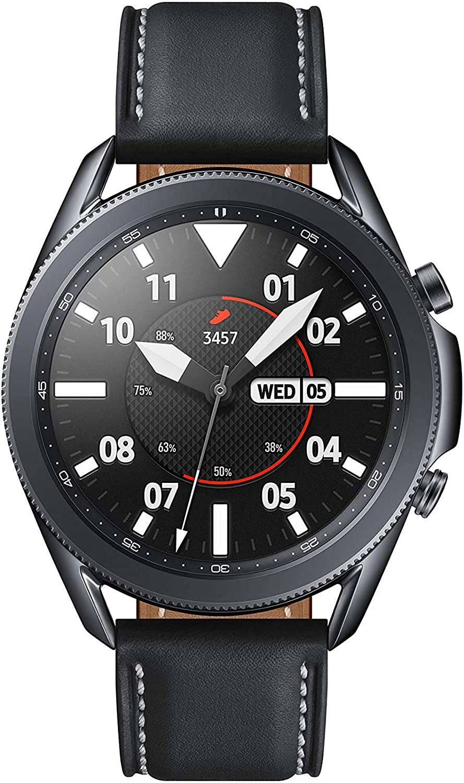 Samsung Galaxy Watch 3 GPS Smartwatch Bluetooth 45mm Mystic Black (SM-R840)