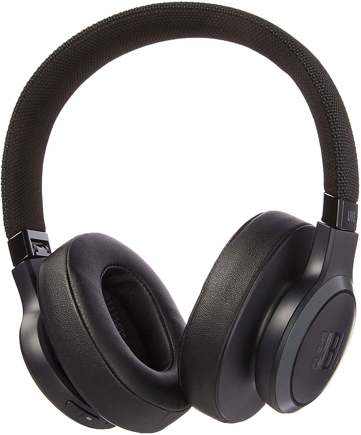 JBL Live 500BT Wireless Over-Ear Headphones with Voice Control Black