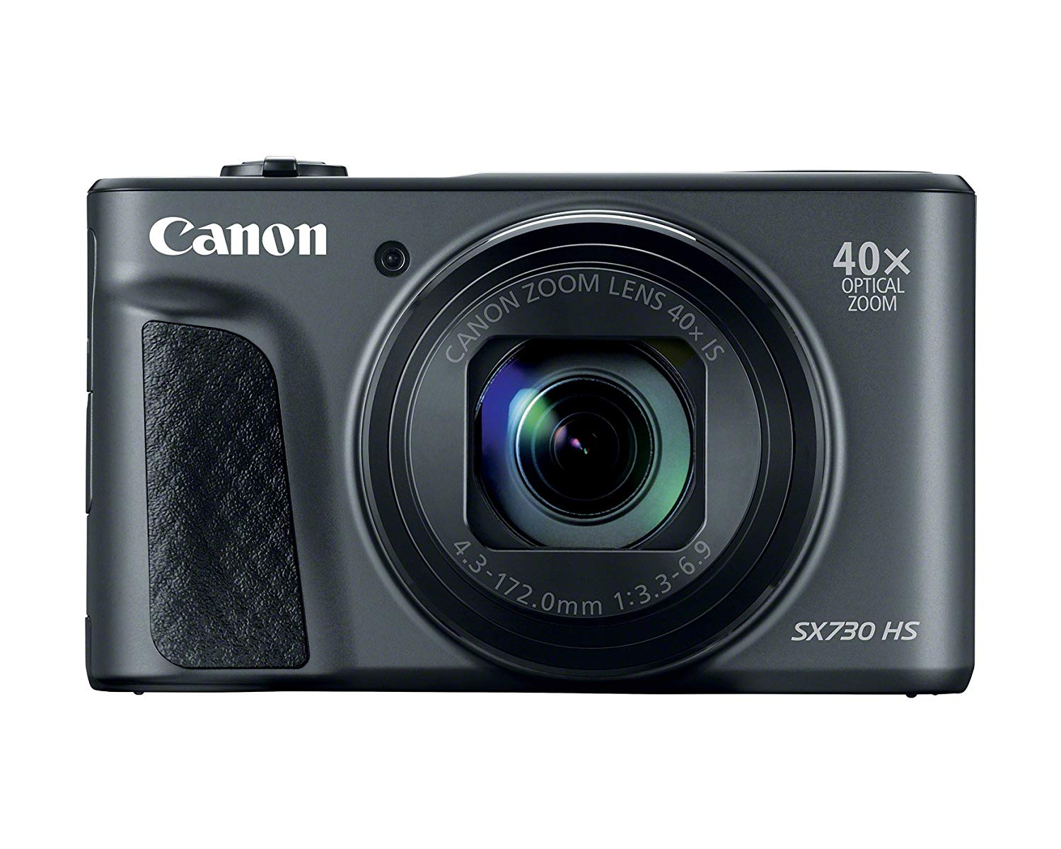 Canon PowerShot SX730 HS, 20.3MP Digital Camera - Black