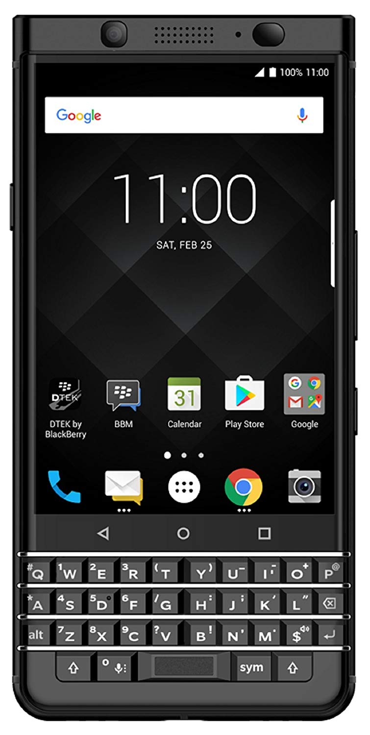 BlackBerry Keyone Limited Edition - 64GB, 4GB RAM, 4G LTE, Black