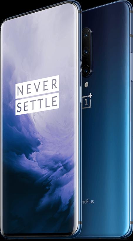 OnePlus 7T Pro - 256GB, 8GB RAM, 4G LTE Haze Blue