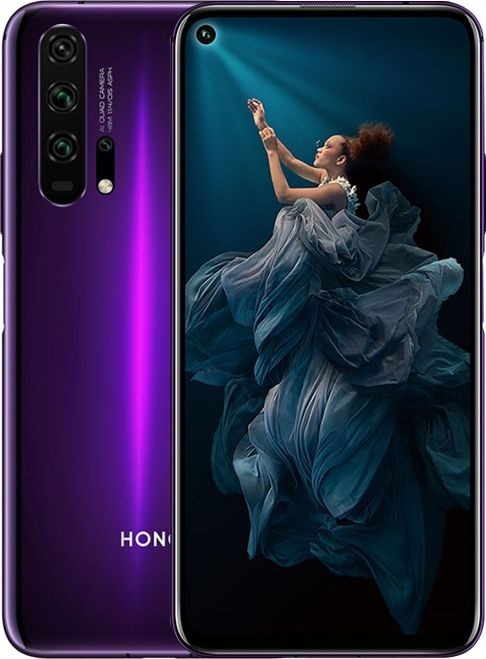 Honor 20 Pro Dual SIM - 256GB, 8GB RAM, 4G LTE, Phantom Black