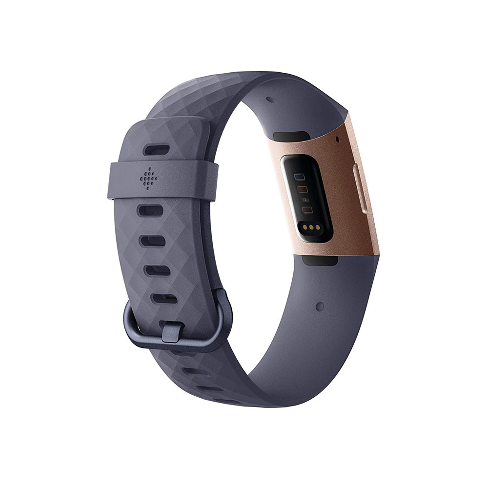Fitbit Charge 3 Fitness Wristband with Heart Rate Tracker - Rose Gold/Gray (FB409RGGY)