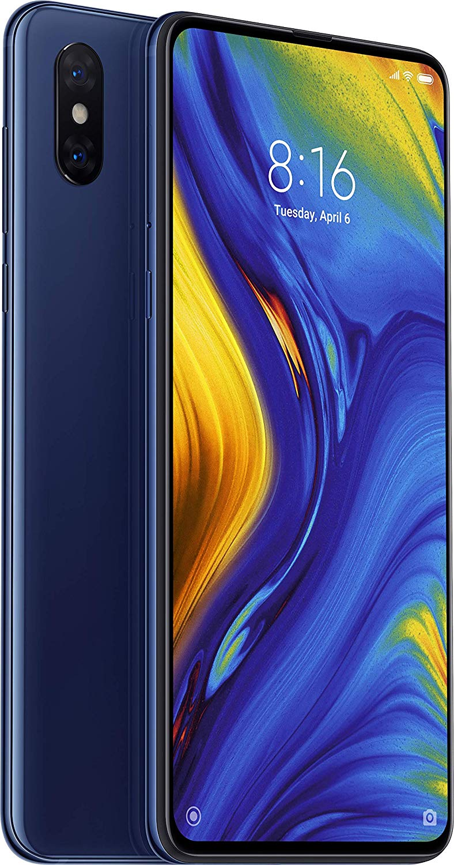 Xiaomi Mi Mix 3 Dual SIM - 128GB, 6GB RAM, 4G LTE, Sapphire Blue Global Versia