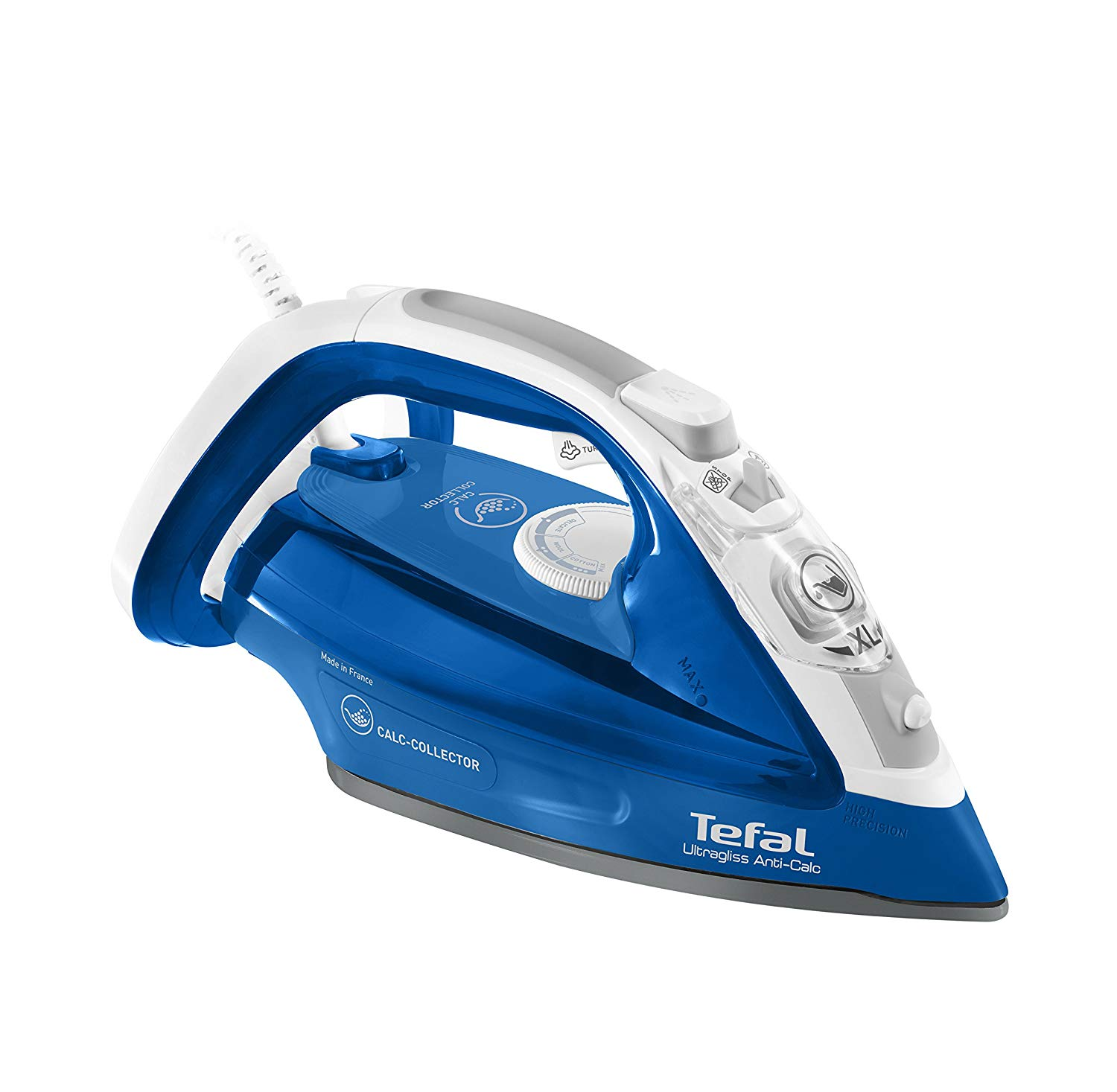 Tefal Steam Iron 2500W FV4944  Blue/White