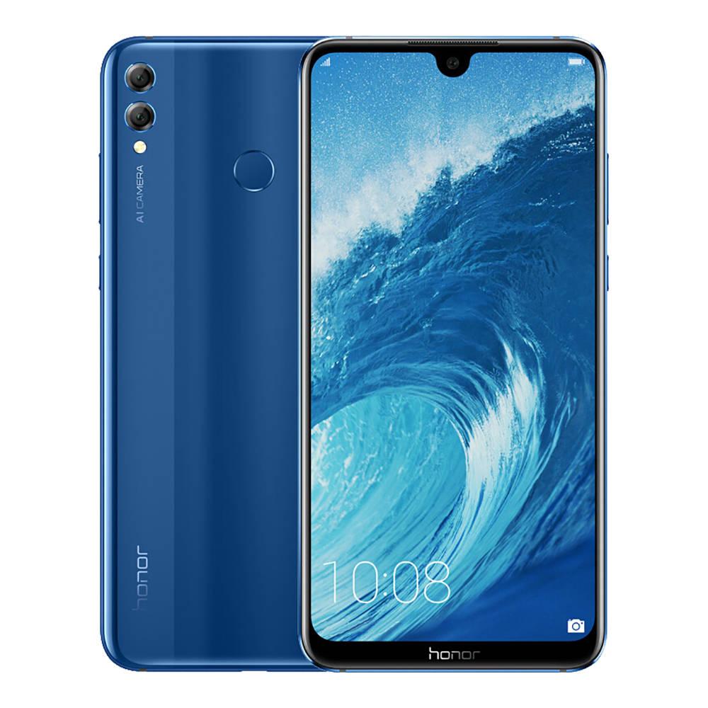 Honor 8X Max Dual SIM - 128GB, 4GB RAM, 4G LTE, Blue