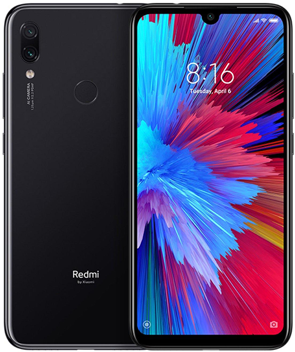 Xiaomi Redmi Note 7 PRO Dual SIM - 128GB, 6GB RAM, 4G LTE, Space Black
