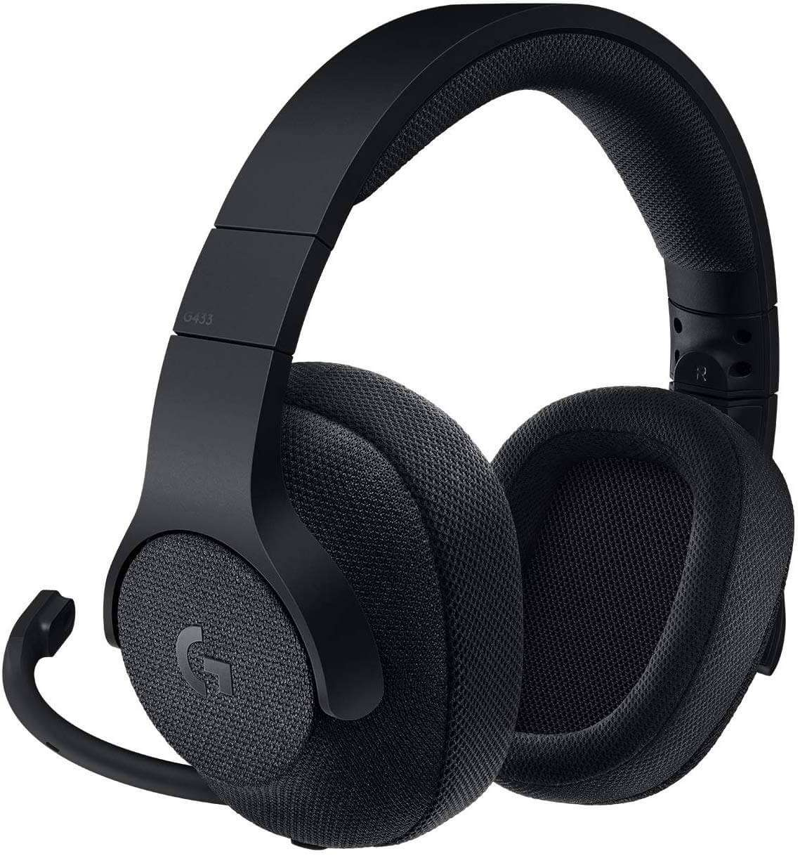 Logitech G433 Wired Gaming Headset - Triple Black