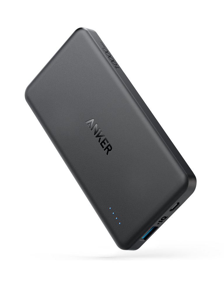 Anker PowerCore II Slim Powerbank 10000mAh - Black (A1261H11)