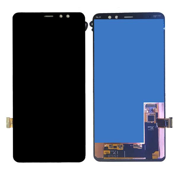 LCD +TOUCH SAMSUNG GALAXY A8 PLUS 2018 (A730) BLACK ORIGINAL 100%
