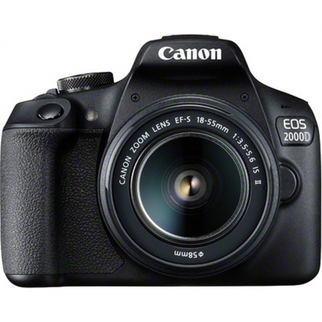 Canon EOS 2000D DSLR Camera With EF-S 18-55mm IS Lens Kit