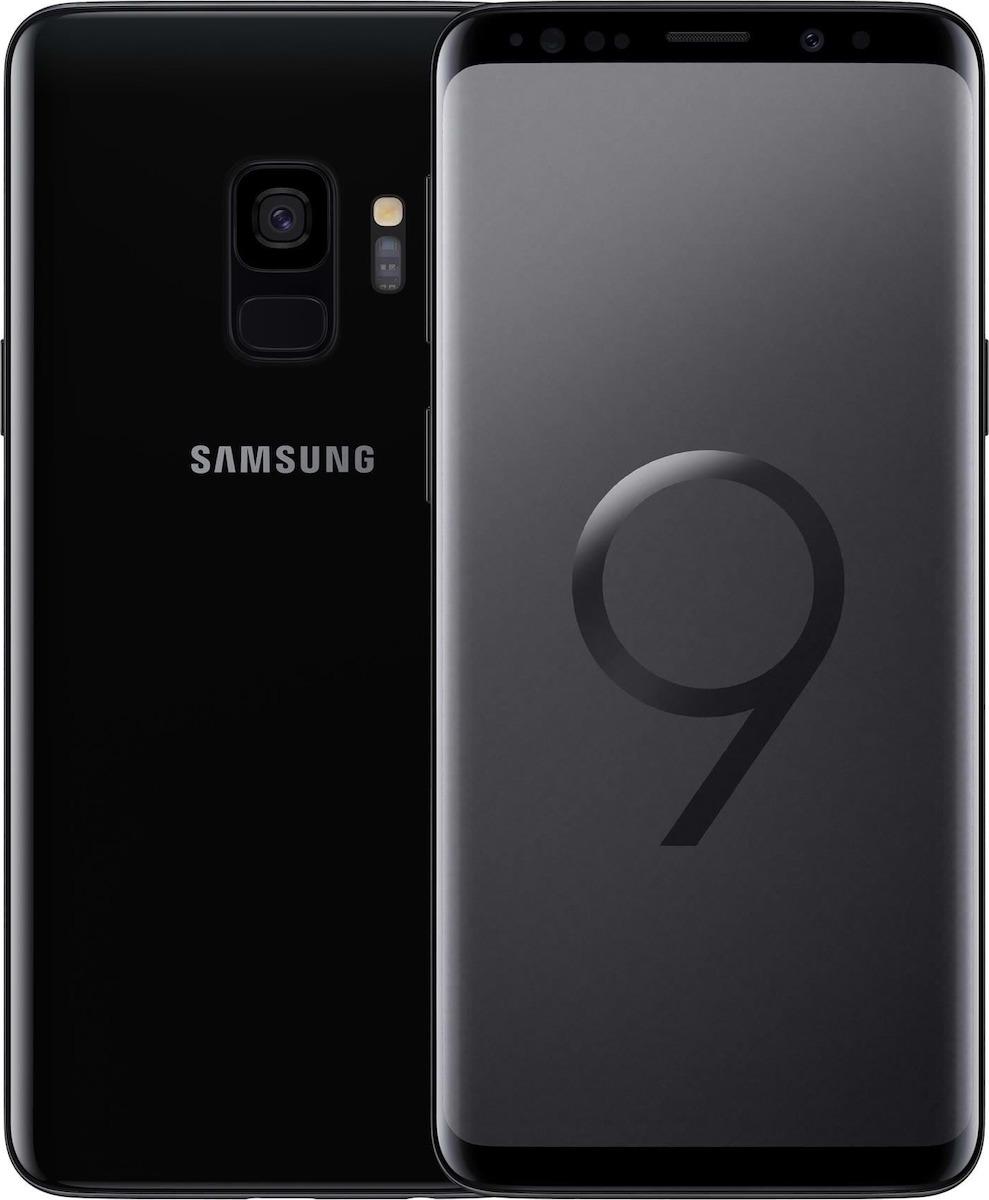 Samsung Galaxy S9 Dual Sim - 128GB, 4GB Ram, 4G LTE, Midnight Black