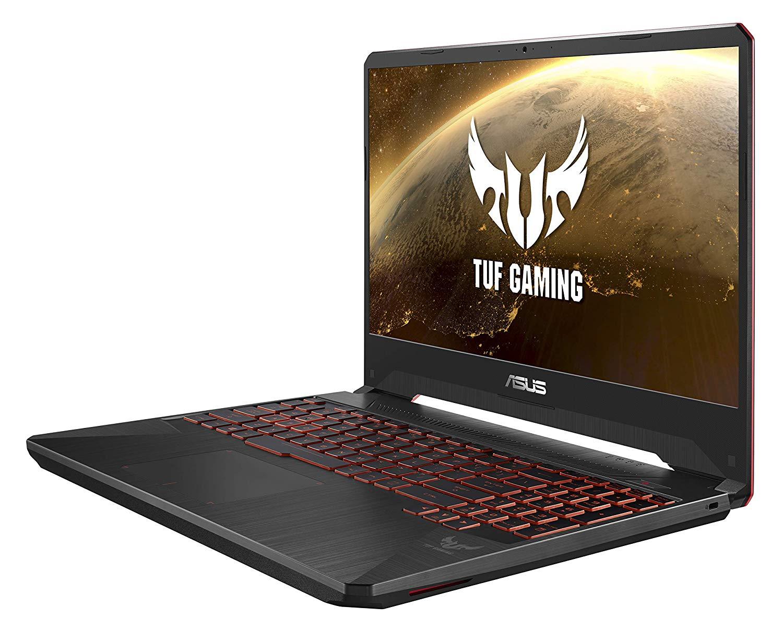 Asus TUF FX505GM-ES085T Gaming Laptop -Intel Core i7-8750H, 15.6-Inch FHD, 1TB + 256GB SSD, 16GB, 6GB VGA-GTX1060, Windows 10, Black