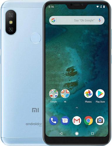 Xiaomi Mi A2 Lite Dual SIM - 64GB, 4GB RAM, 4G LTE, Blue Global Versia